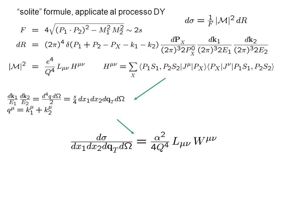 solite formule, applicate al processo DY