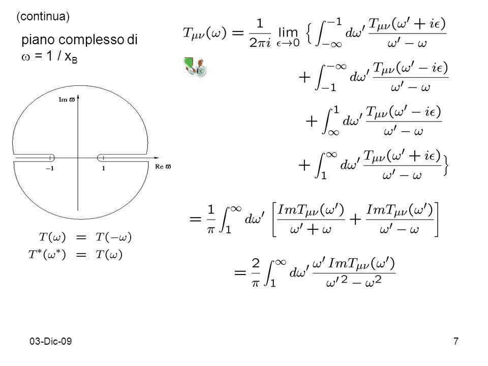 03-Dic-097 piano complesso di = 1 / x B (continua)