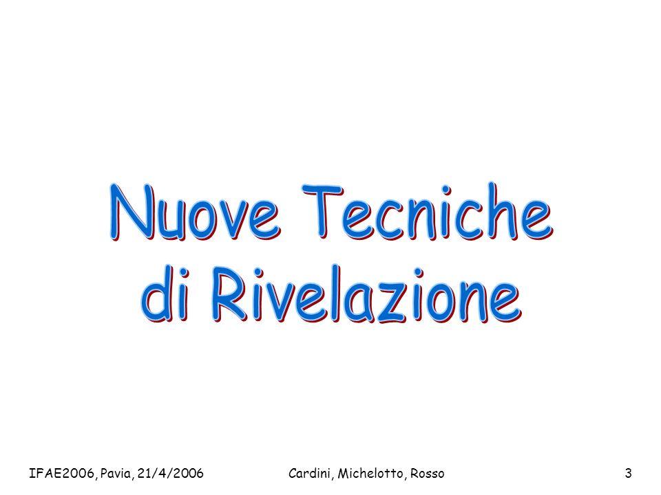 IFAE2006, Pavia, 21/4/2006Cardini, Michelotto, Rosso3