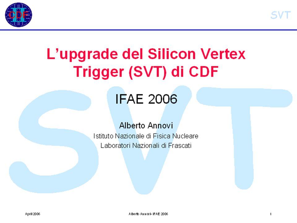 IFAE2006, Pavia, 21/4/2006Cardini, Michelotto, Rosso32