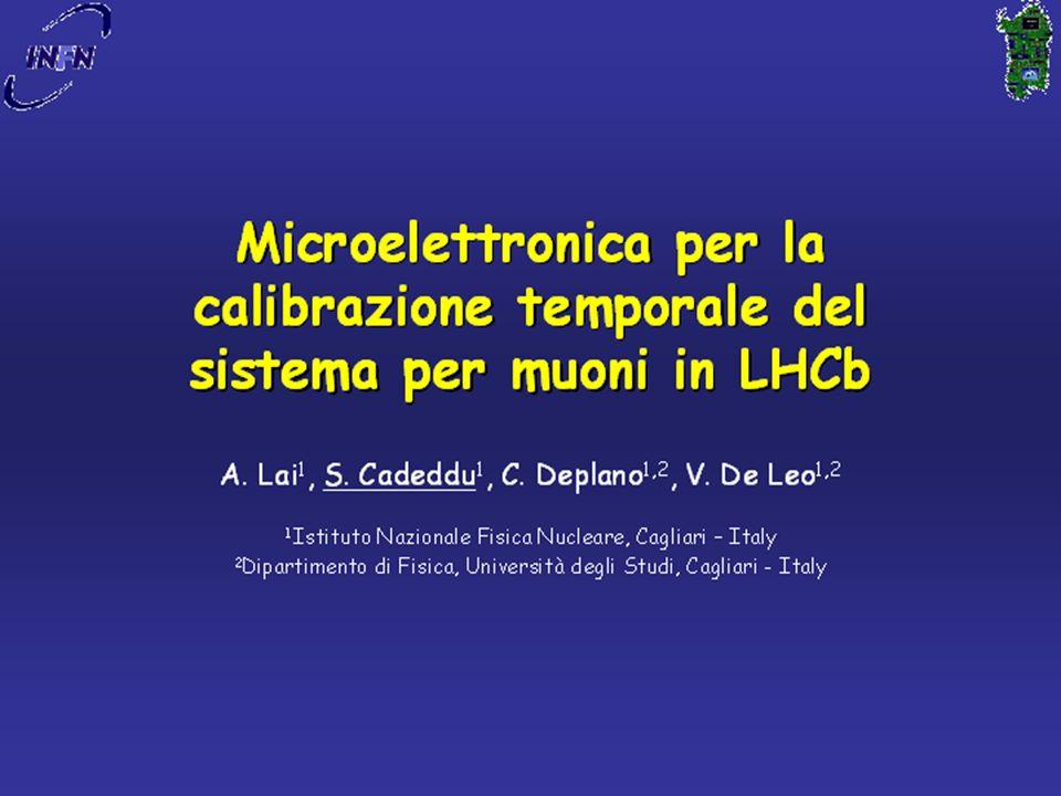 IFAE2006, Pavia, 21/4/2006Cardini, Michelotto, Rosso43