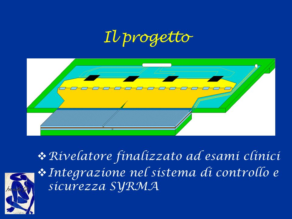 Il rivelatore a microstrip Pixel 100 x 300 µm 2 Lunghezza strip 2cm, Zona morta ridotta fino a 200µm Guard ring su 3 lati Efficienza >70% Bassa corrente di buio (0.1 nA/strip)