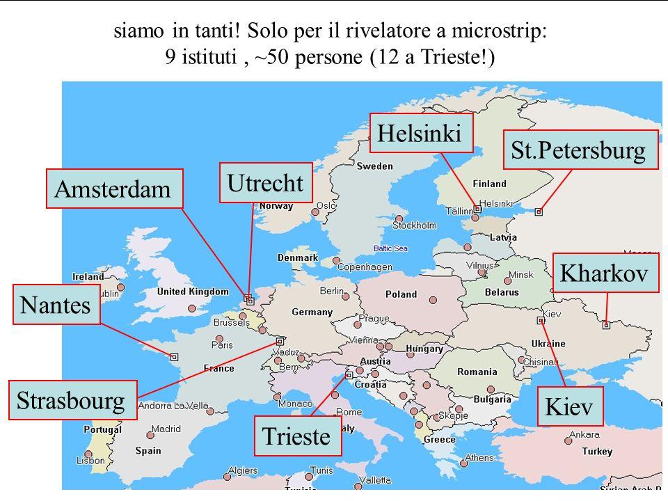 M.Bregant: Il rivelatore a microstrip di silicio ALICE-DAY 25/11/05 Es.