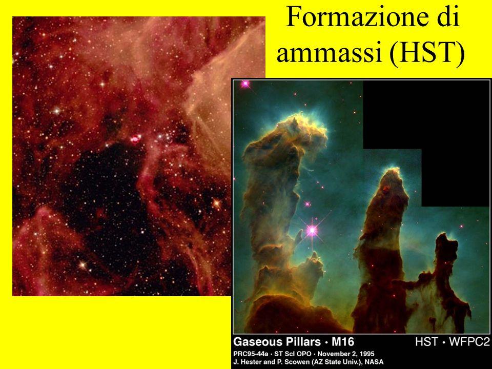 Formazione di ammassi (HST)