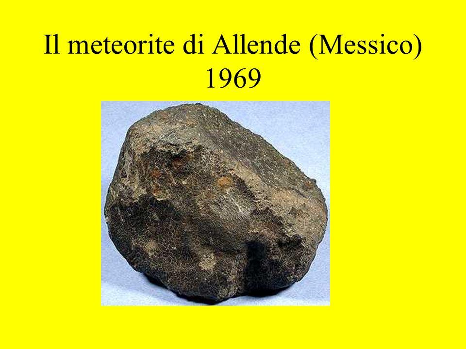 Il meteorite di Allende (Messico) 1969