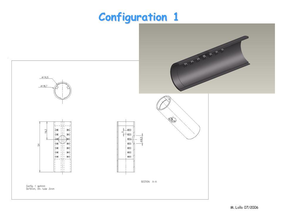 Configuration 1 M. Lollo 07/2006