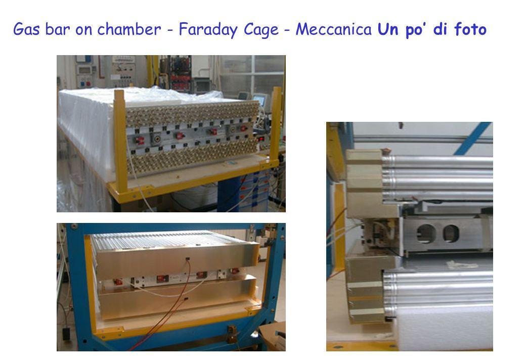 Gas bar on chamber - Faraday Cage - Meccanica Un po di foto