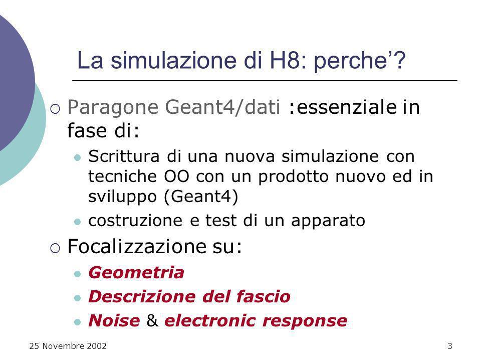 25 Novembre 200214 Residui G4 / dati h8 bil1