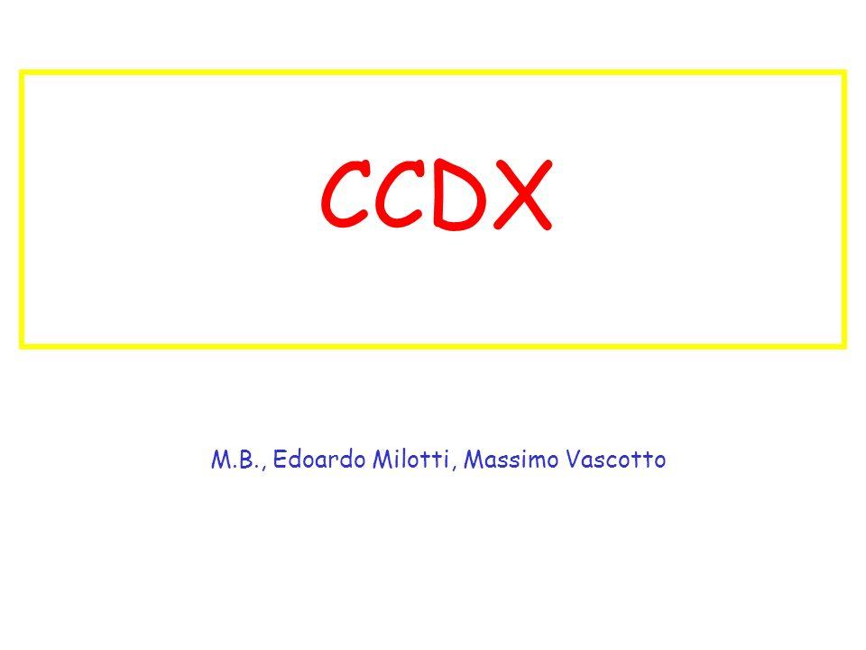 0 of 314 CCDX M.B., Edoardo Milotti, Massimo Vascotto