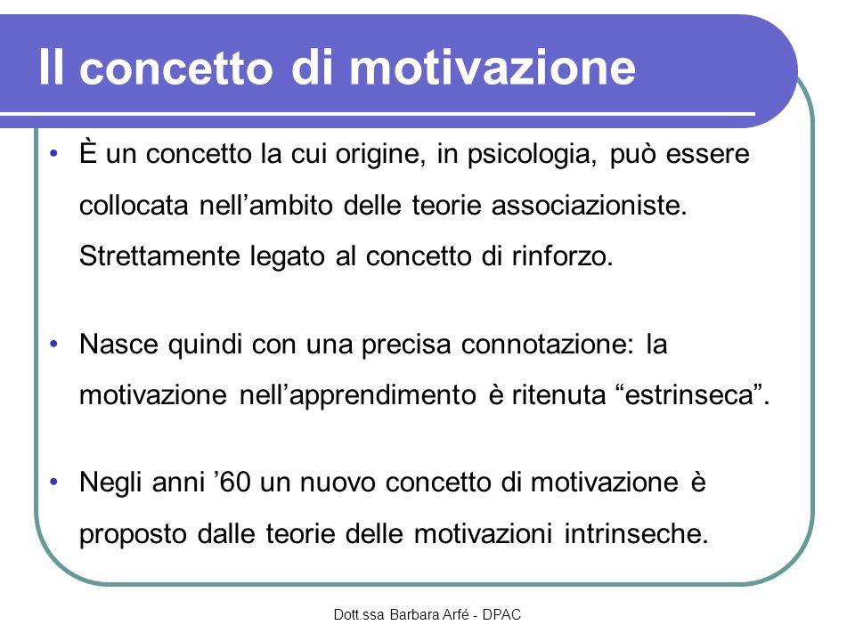 Scelta del compito Lindividuo orientato al successo: sceglie compiti di media difficoltà.