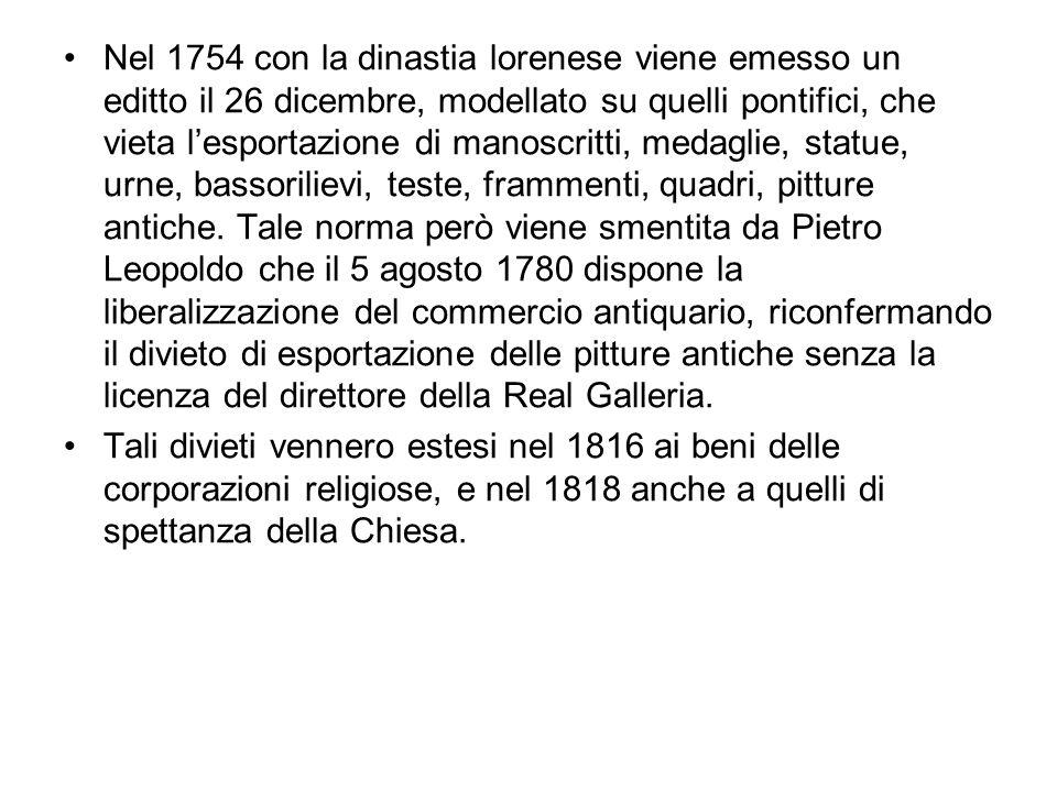 Repubblica di Venezia Alla legislazione veneziana si può far risalire lo spirito del moderno catalogo.