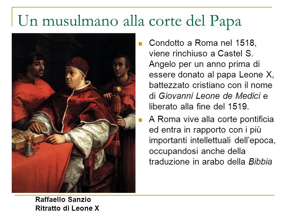 Un musulmano alla corte del Papa Condotto a Roma nel 1518, viene rinchiuso a Castel S. Angelo per un anno prima di essere donato al papa Leone X, batt