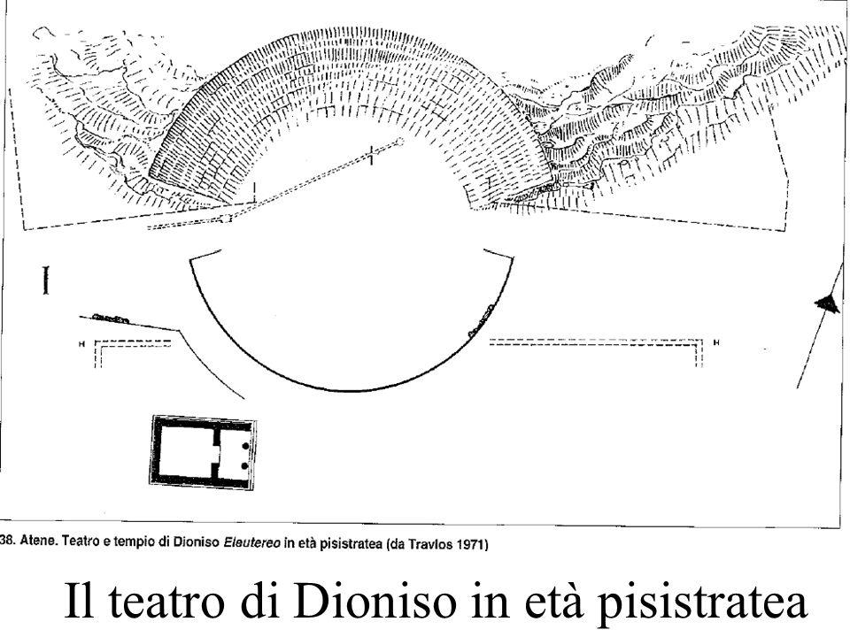 Il teatro di Dioniso in età pisistratea