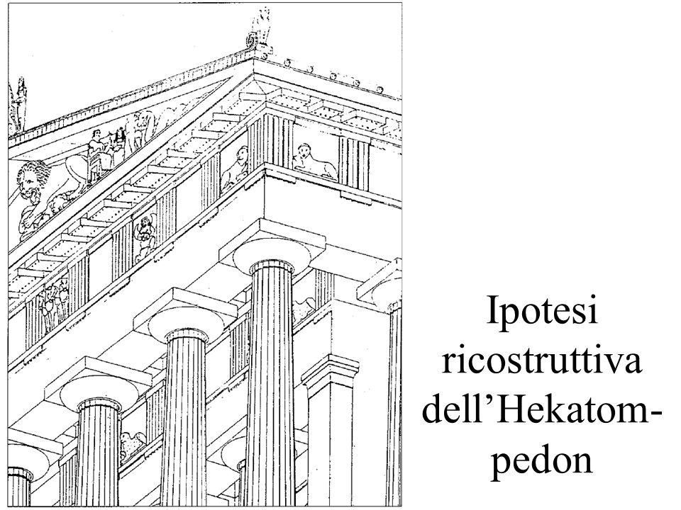 Ipotesi ricostruttiva dellHekatom- pedon