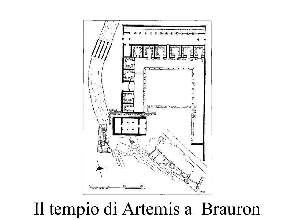 Il tempio di Artemis a Brauron