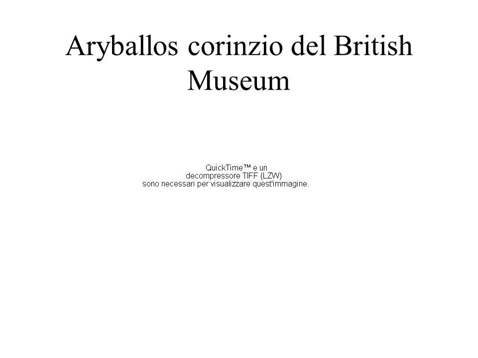 Aryballos corinzio del British Museum