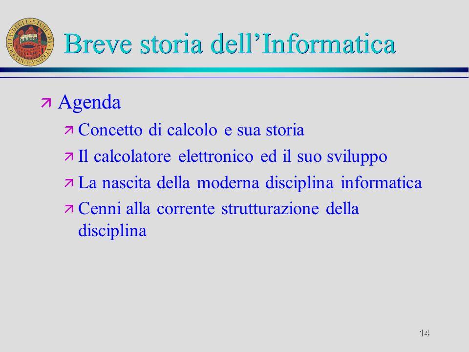 13 Informatica e informazione