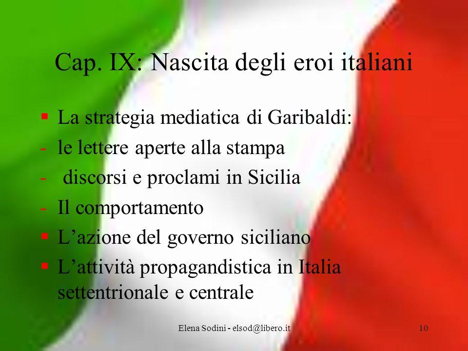 Elena Sodini - elsod@libero.it10 Cap.