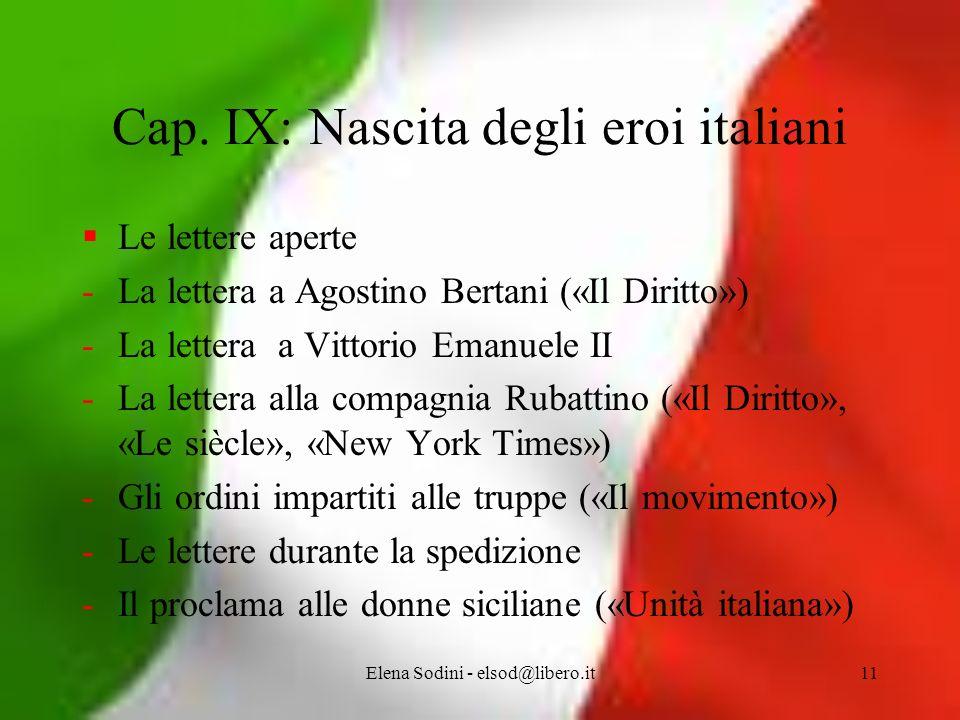 Elena Sodini - elsod@libero.it11 Cap.