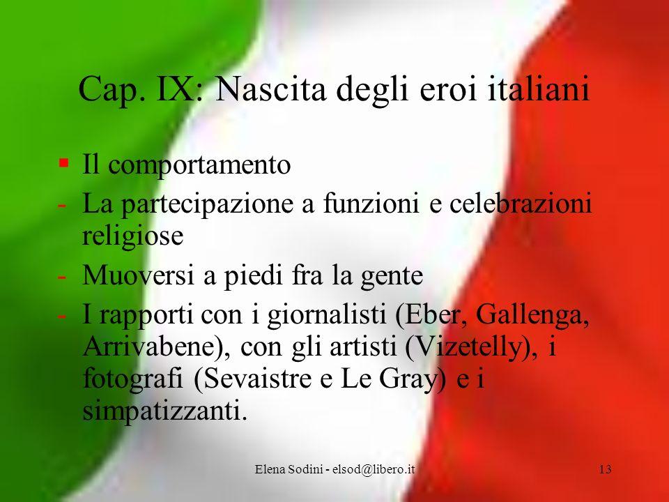 Elena Sodini - elsod@libero.it13 Cap.