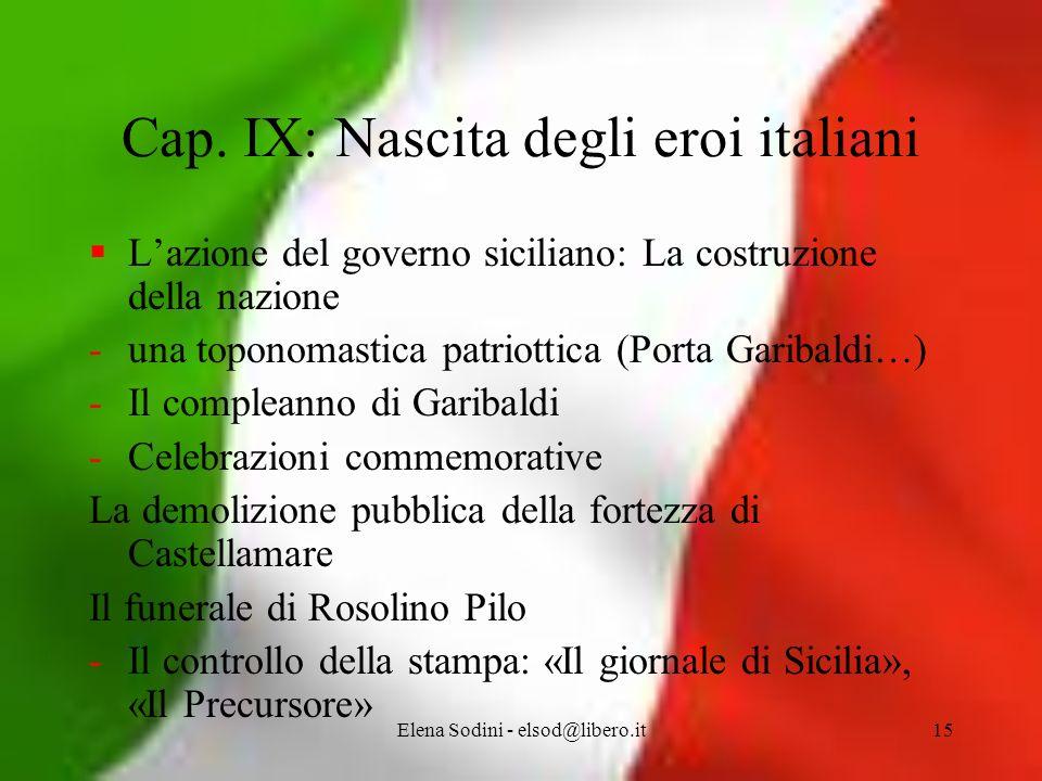 Elena Sodini - elsod@libero.it15 Cap.