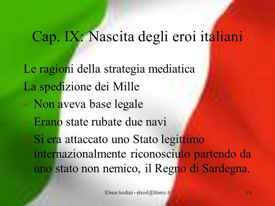 Elena Sodini - elsod@libero.it18 Cap.