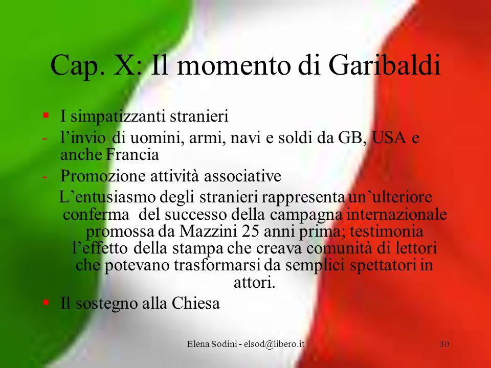 Elena Sodini - elsod@libero.it30 Cap.