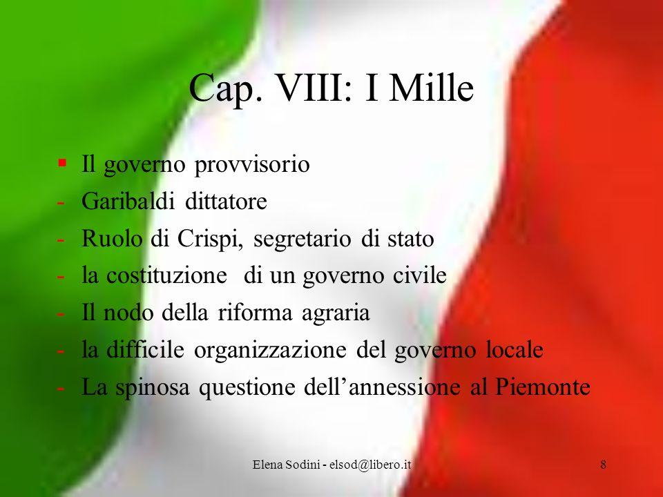 Elena Sodini - elsod@libero.it8 Cap.