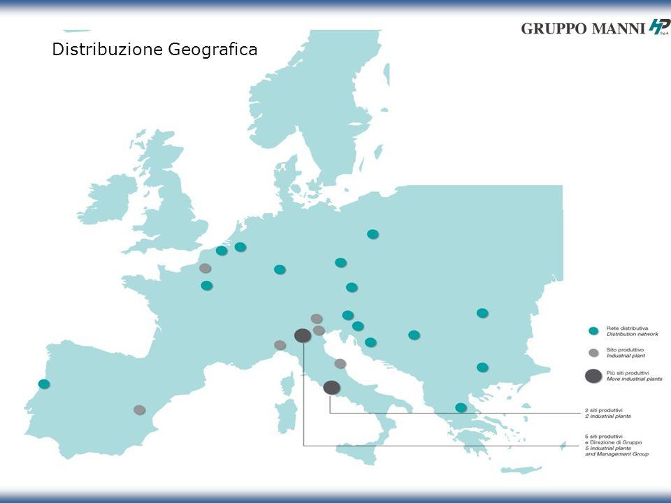 15 1.3 Distribuzione Geografica