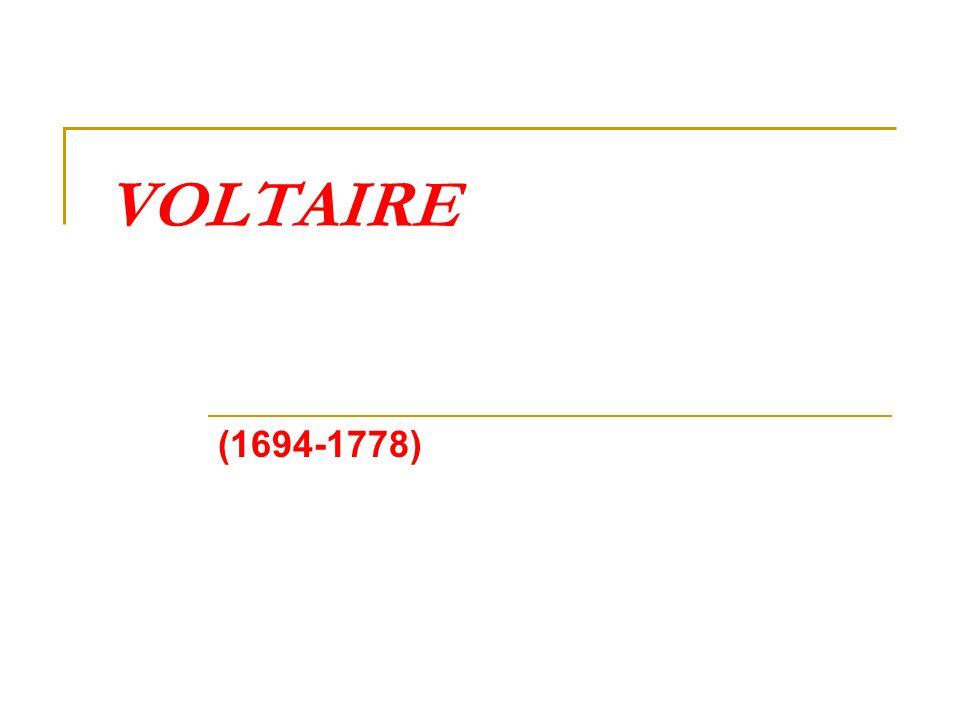 Da Arouet a Voltaire: gli anni della formazione 1694 - Francois-Marie Arouet nasce a Parigi, figlio minore di un alto funzionario della Corte dei Conti 1703-11 - studia al collegio gesuitico Louis le Grand 1713 - primo soggiorno in Olanda al seguito dell ambasciatore francese Cateauneuf (suo lontano parente) 1714 - inizia gli studi giuridici alla Sorbonne 1716 - è esiliato a Sully-sur-Loire per alcuni libelli politico-pornografici 1717 - è imprigionato alla Bastiglia 1718 - per far dispetto al padre e al fratello maggiore Armand (giansenista) adotta il nuovo nome di Monsieur de Voltaire; rappresenta la sua prima opera teatrale Oedipe che invia con dedica a Giorgio I d Inghilterra (principe saggio) il quale gli invia una medaglia ed un orologio d oro 1719-23 - vita mondana con soggiorni in castelli di campagna 1722 - morte del padre; difficoltà con l eredità; riceve una pensione dal Reggente 1722 - secondo soggiorno nei Paesi Bassi (contatti con ambienti tolandiani)