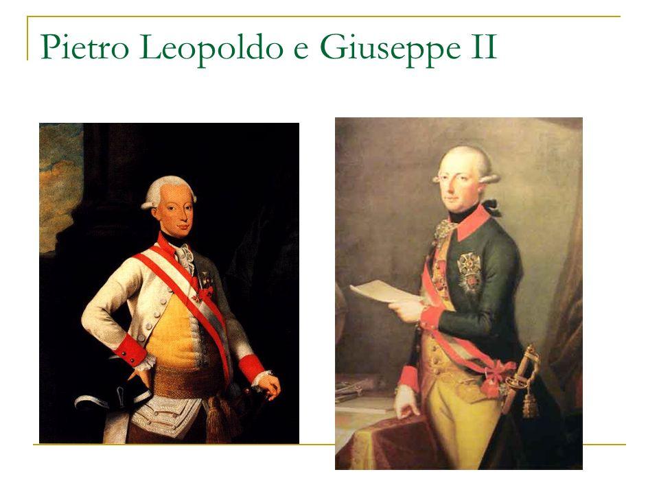 Pietro Leopoldo e Giuseppe II
