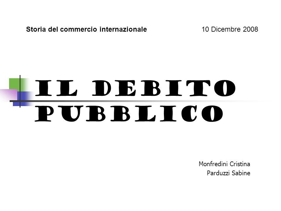 DEBITO PUBBLICO NEL MONDO Fino ad ora abbiamo parlato del problema del debito pubblico fino agli anni 80 del 1900, ma bisogna precisare che è un problema tuttora presente nelle economie delle nazioni di tutto il mondo.