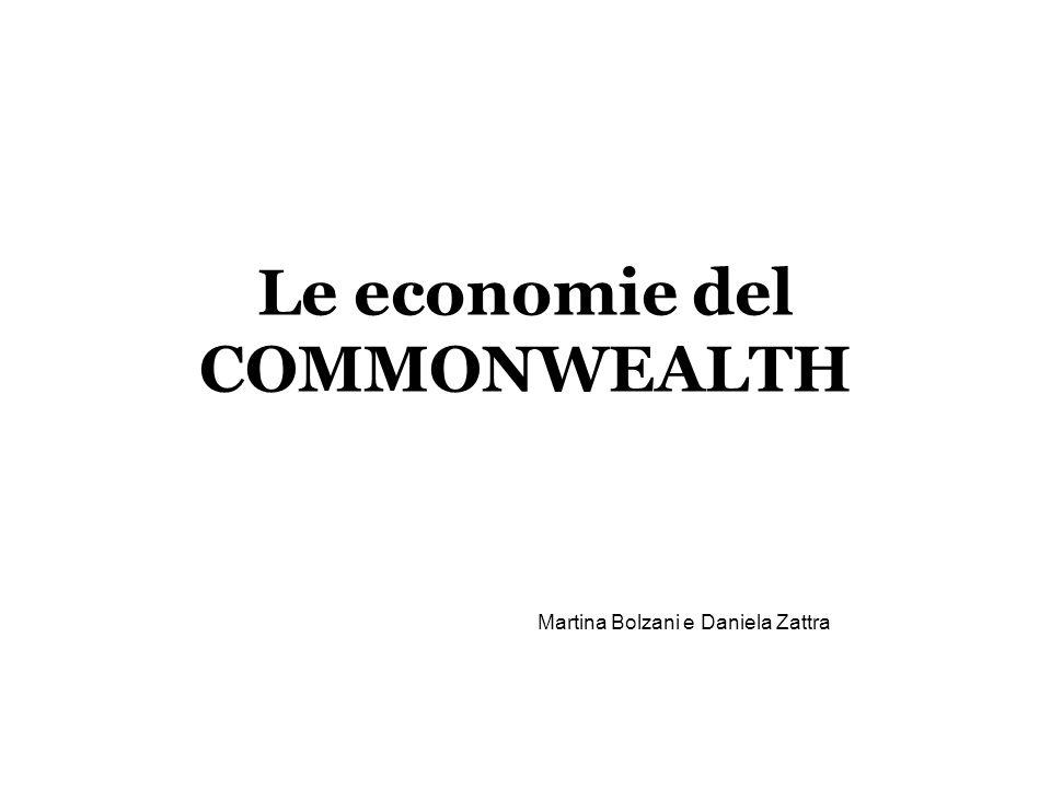Le economie del COMMONWEALTH Martina Bolzani e Daniela Zattra