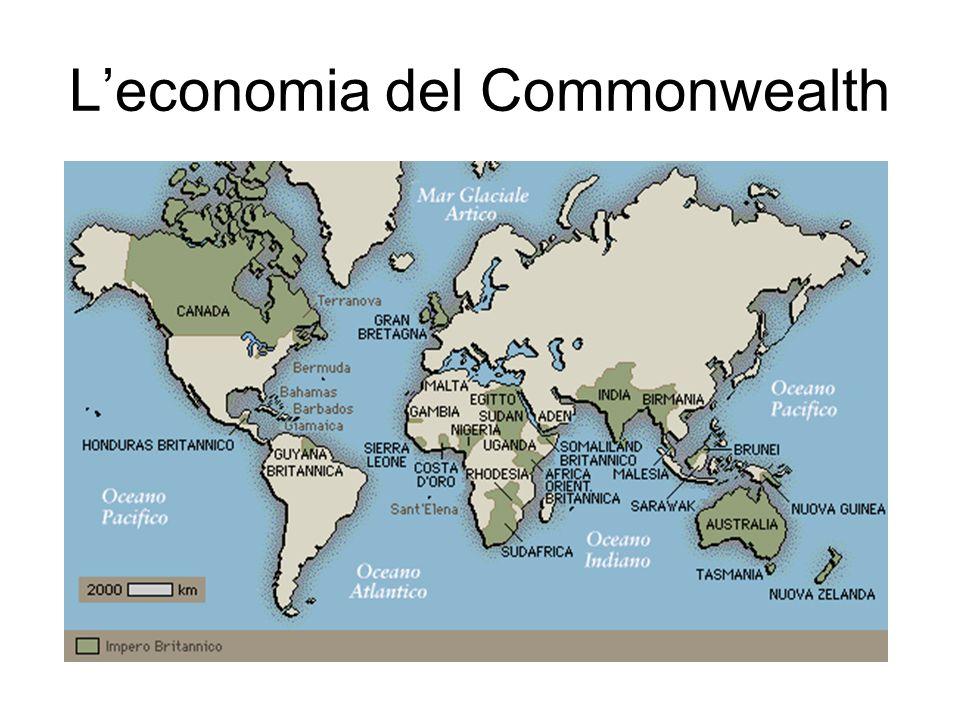 Leconomia del Commonwealth