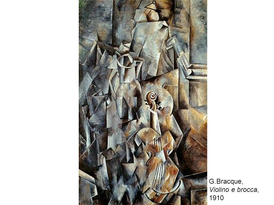 G.Bracque, Violino e brocca, 1910