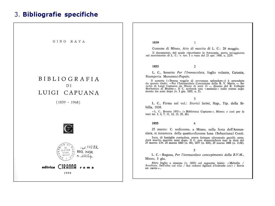 3. Bibliografie specifiche