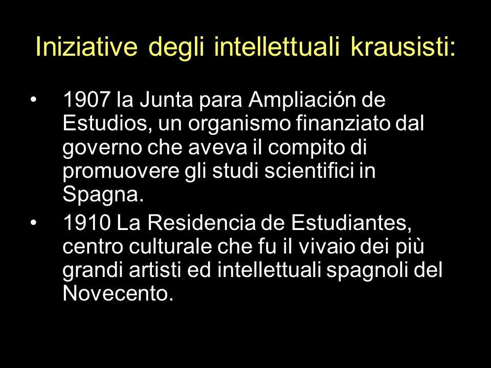 1907 la Junta para Ampliación de Estudios, un organismo finanziato dal governo che aveva il compito di promuovere gli studi scientifici in Spagna. 191