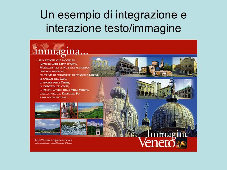 Un esempio di integrazione e interazione testo/immagine