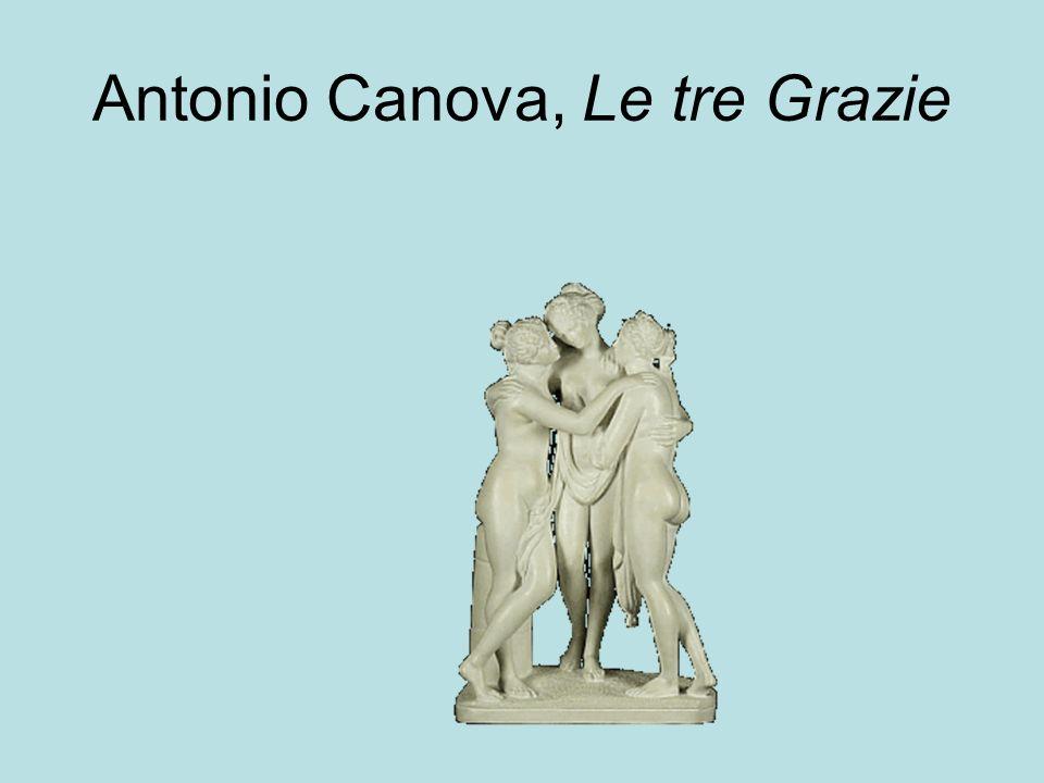 Antonio Canova, Le tre Grazie