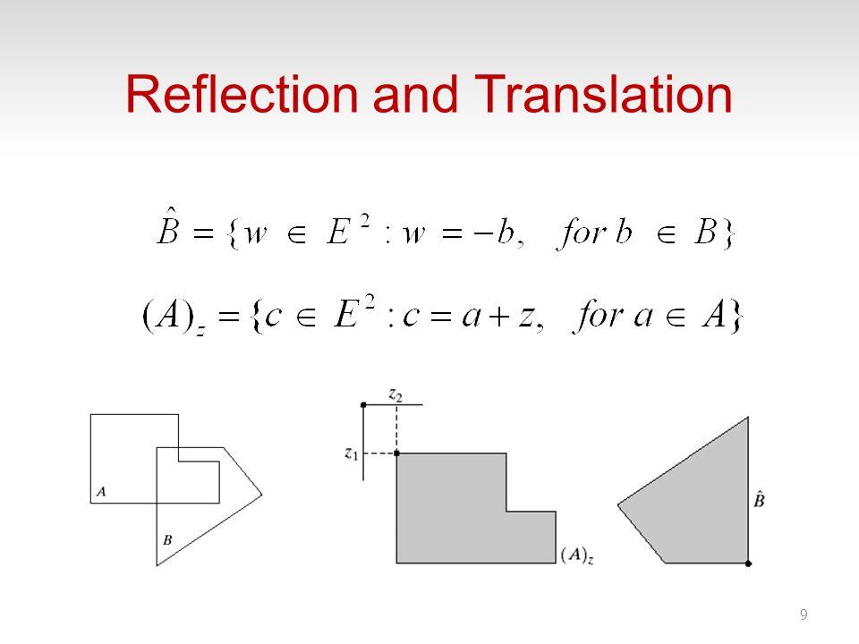 Reflection and Translation 9
