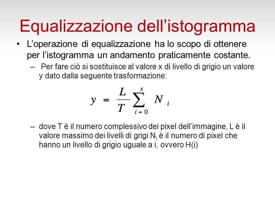 Equalizzazione dellistogramma