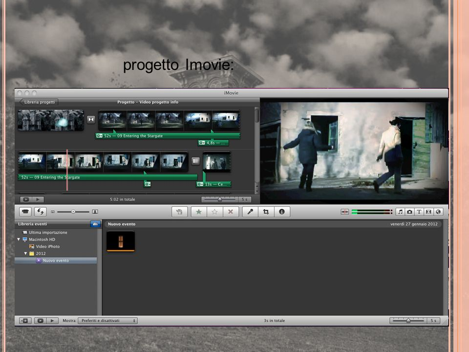 progetto Imovie: