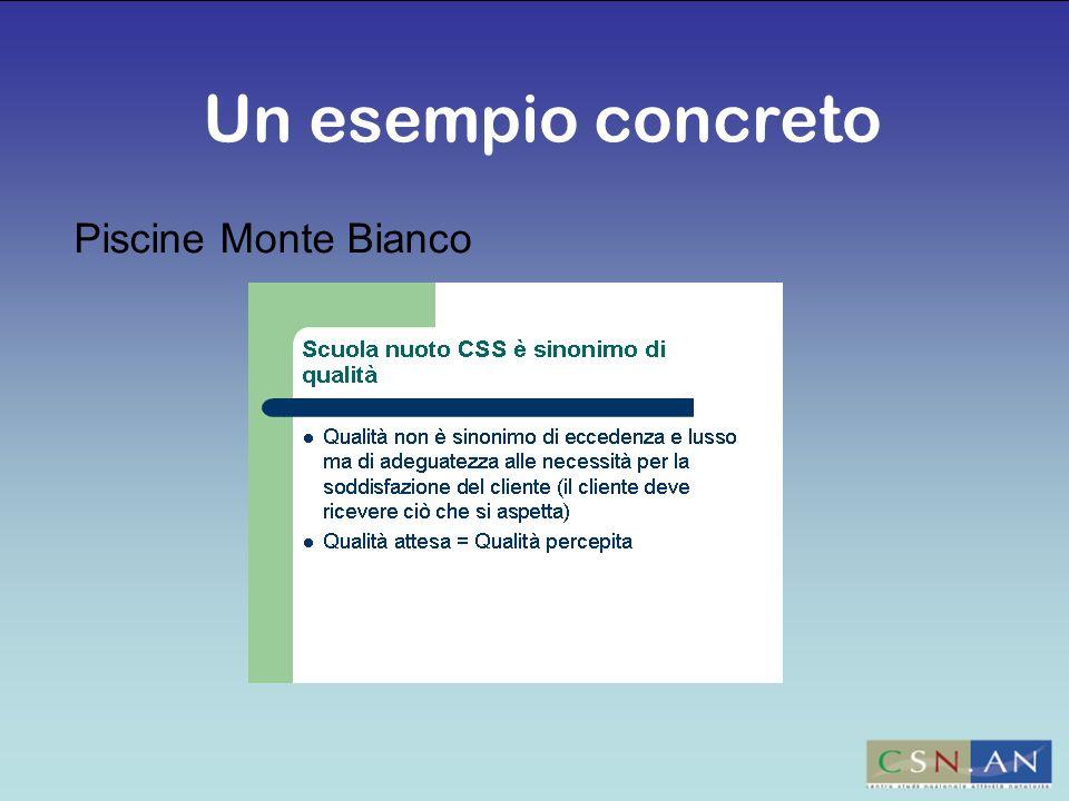 Piscine Monte Bianco Un esempio concreto