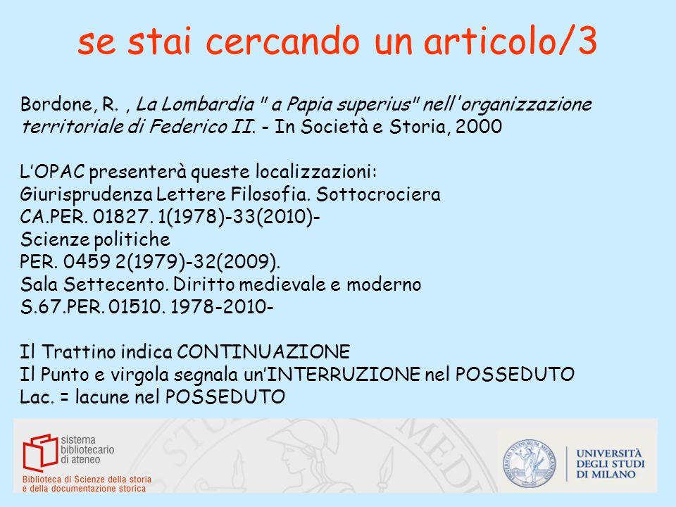 se stai cercando un articolo/3 Bordone, R., La Lombardia