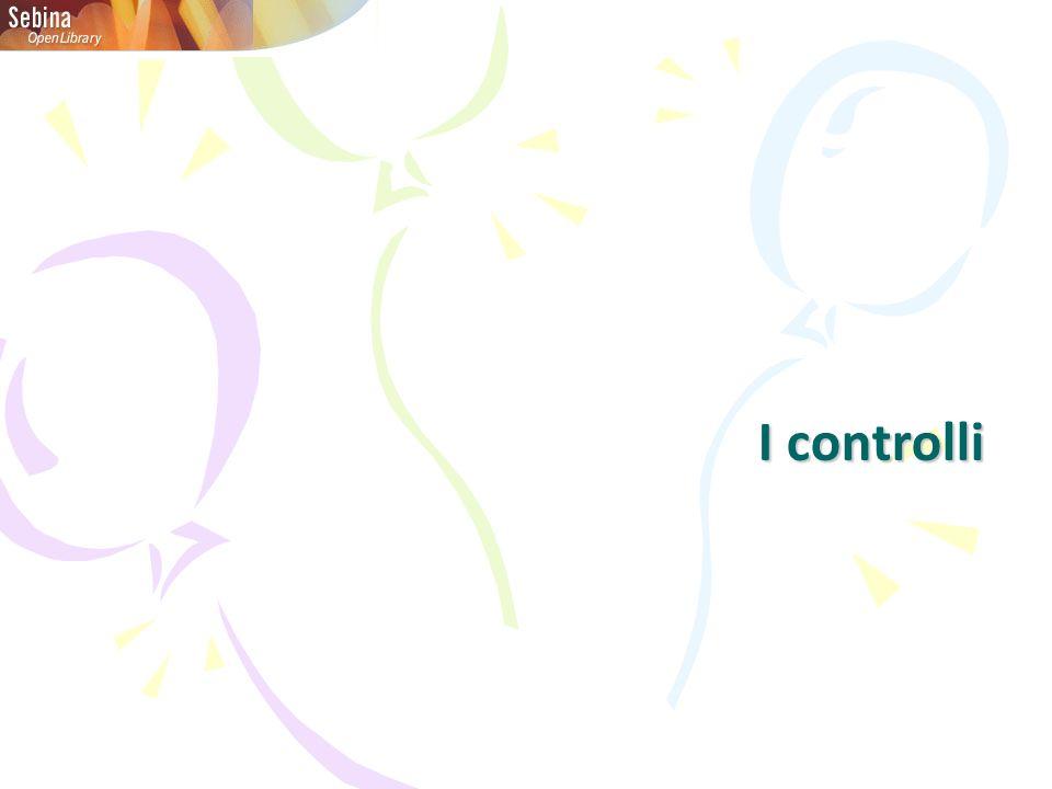 I controlli