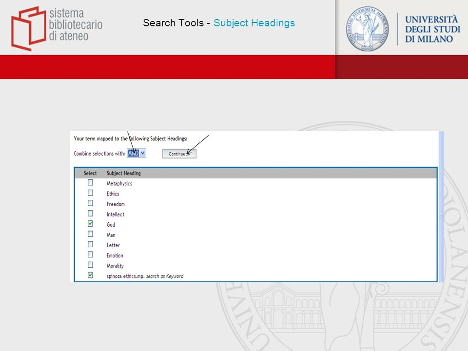 Search Tools - Display