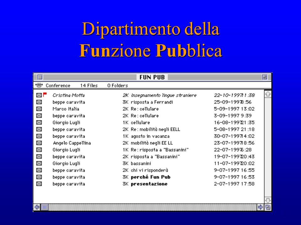 17 Dipartimento della Funzione Pubblica