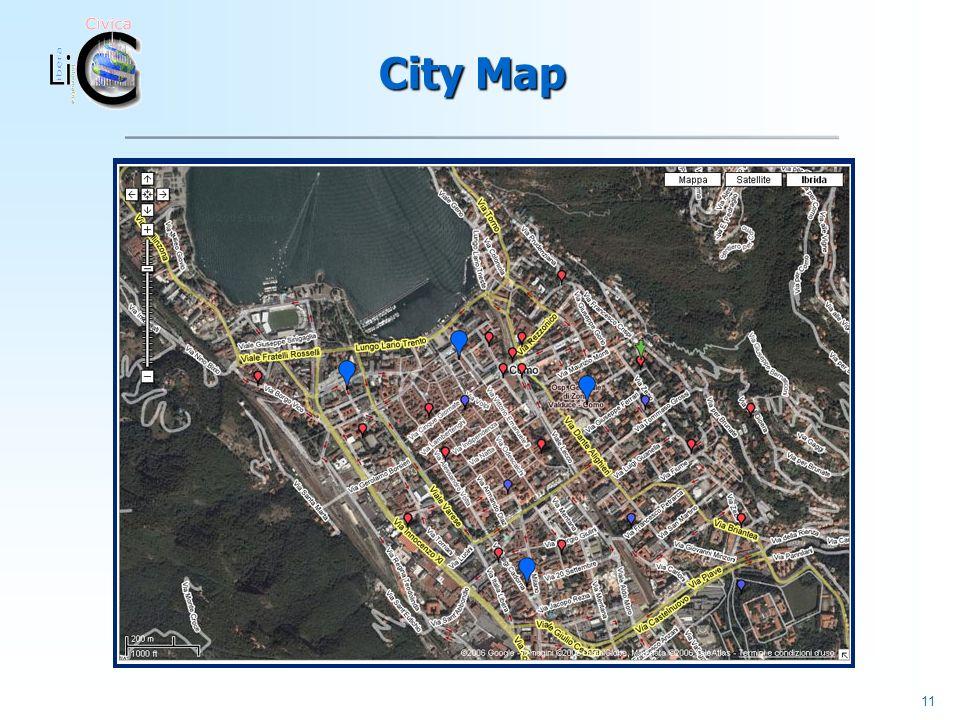 11 City Map