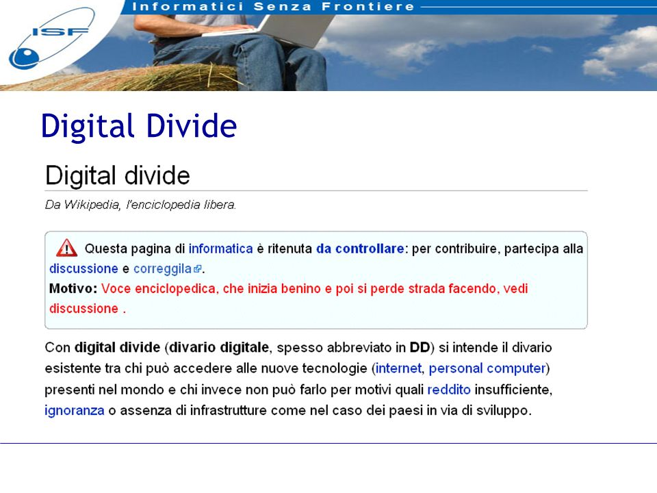 12 Digital Divide