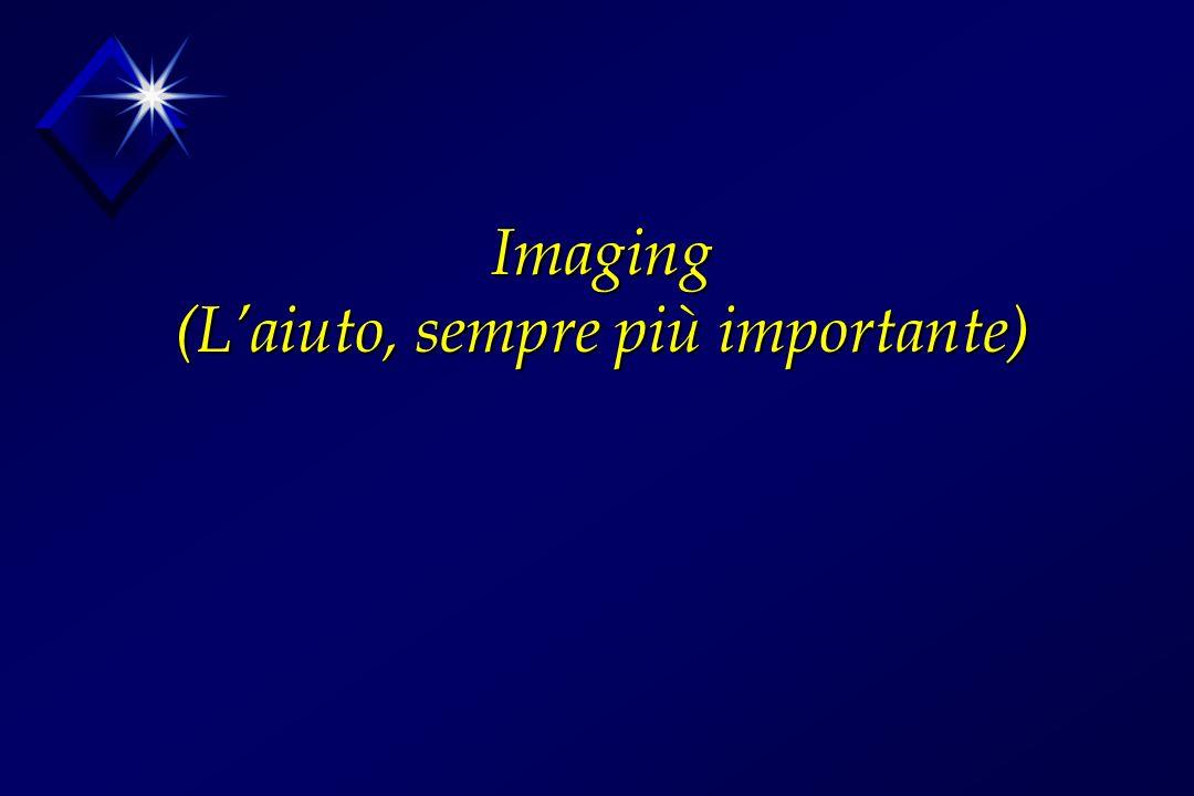 Imaging (Laiuto, sempre più importante)